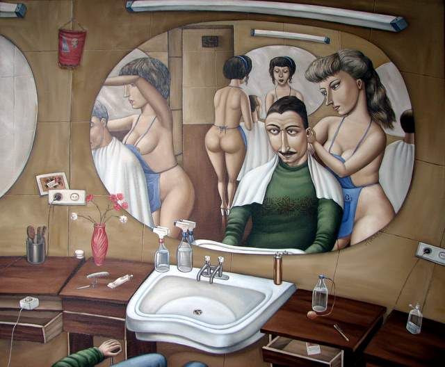 Голая парикмахерша фото