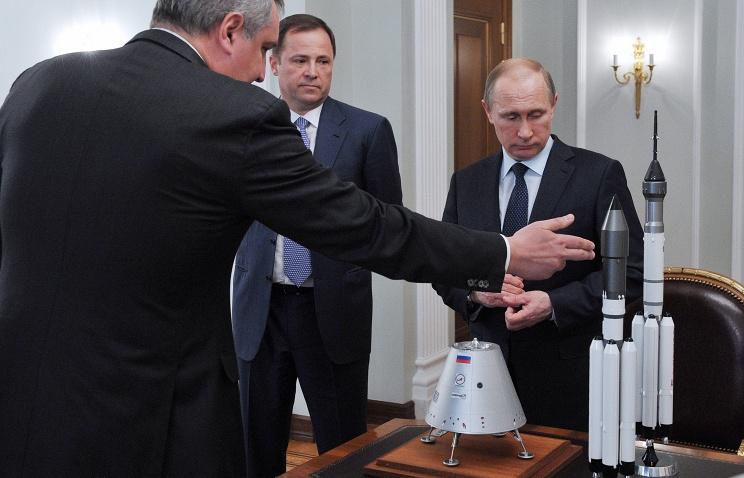 Создают корпорацию Роскосмос