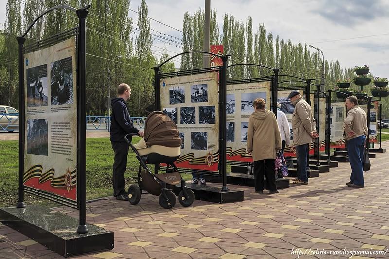 Выставка у фонтанов на Осипенко