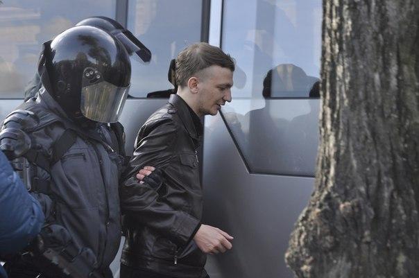 Закончился допрос активиста Голавы