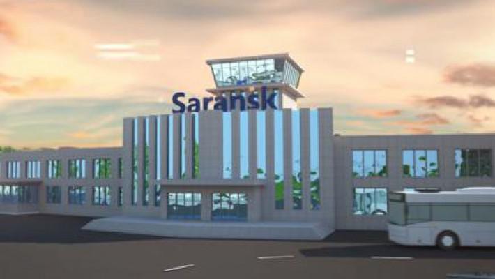 Временный терминал в Саранске
