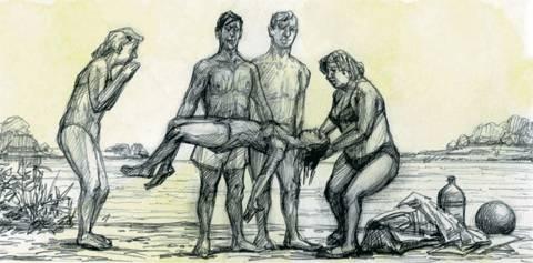В выходные утонули четверо мужчин