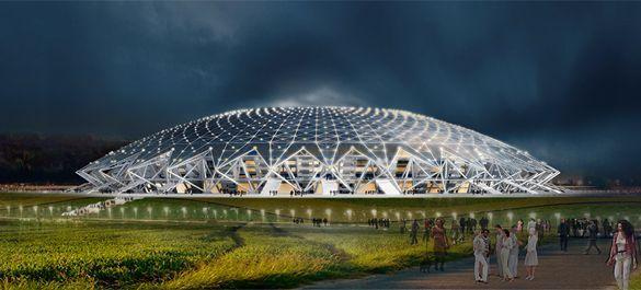 Самарский стадион Космос Арена строится, и строится, и строится