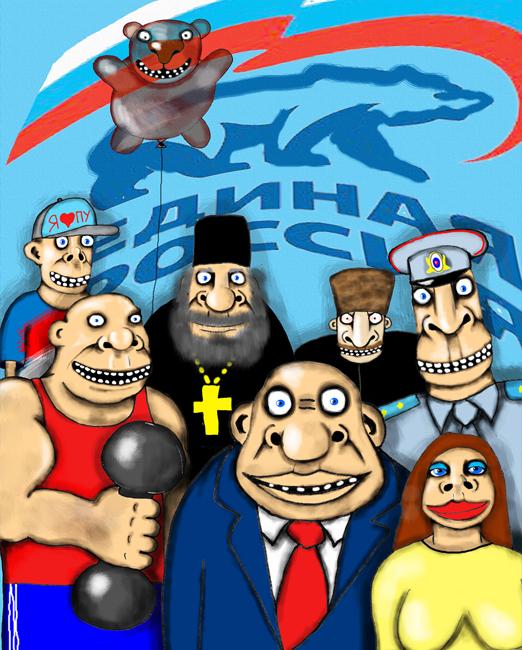Лучше всех голосуют за Единую Россию в Самаре