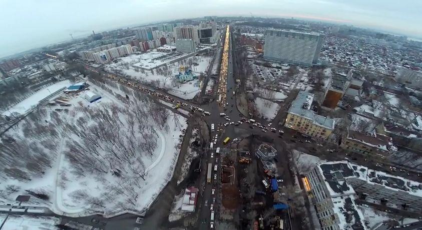 Подробности реконструкции Московского шоссе