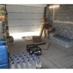 Полицейские обнаружили нелегальный водочных цех – производство 65 тыс. бутылок в сутки