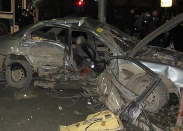 При ДТП в Ленинском районе погибла молодая женщина
