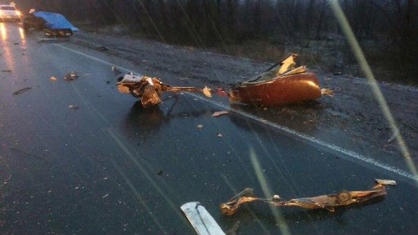 На автодороге «Самара-Оренбург» произошло смертельное ДТП
