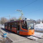 Самарцы тестируют новый низкопольный трамвай с wi-fi