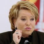 Валентина Матвиенко осудила мэра Самары за использование бюджета в личных целях