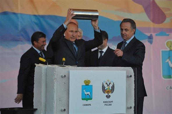 В декабре Самару посетит президент Владимир Путин