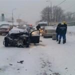 В ДТП на ул. Демократической погибла автоледи, еще двое госпитализированы