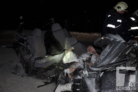 Смертельное ДТП под Тольятти: два человека погибли на трассе