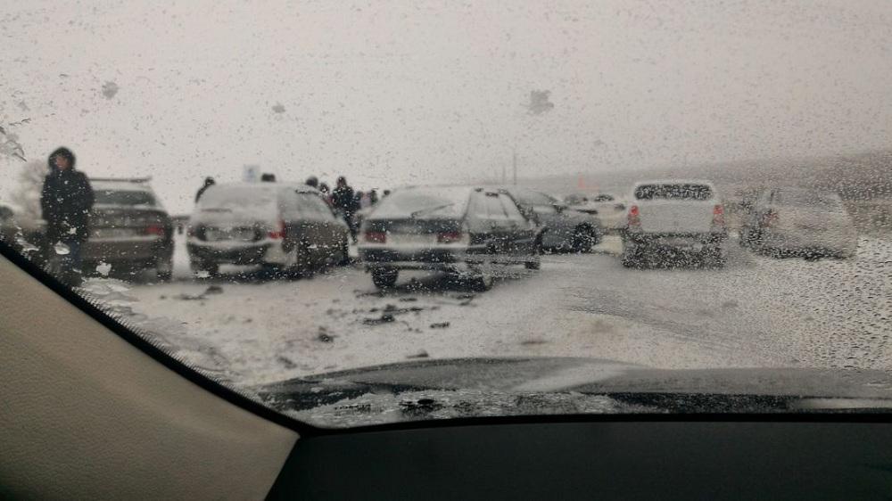 Массовое ДТП в Самарской области: столкнулись более десятка авто