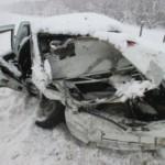 В ДТП под Самарой пострадало пять человек – среди них трое детей