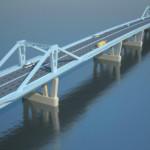 Фрунзенский мост будет открыт в 2018 году