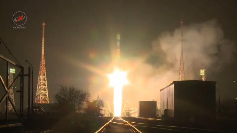 Успешный запуск с космодрома Байконур
