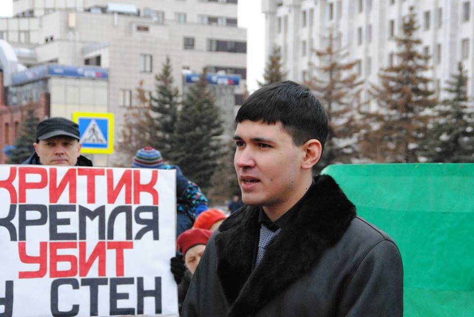 Владимир Авдонин: «Для меня борьба воспринимается как долг»