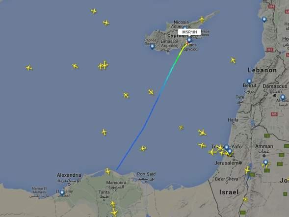 В Египте захвачен пассажирский самолет