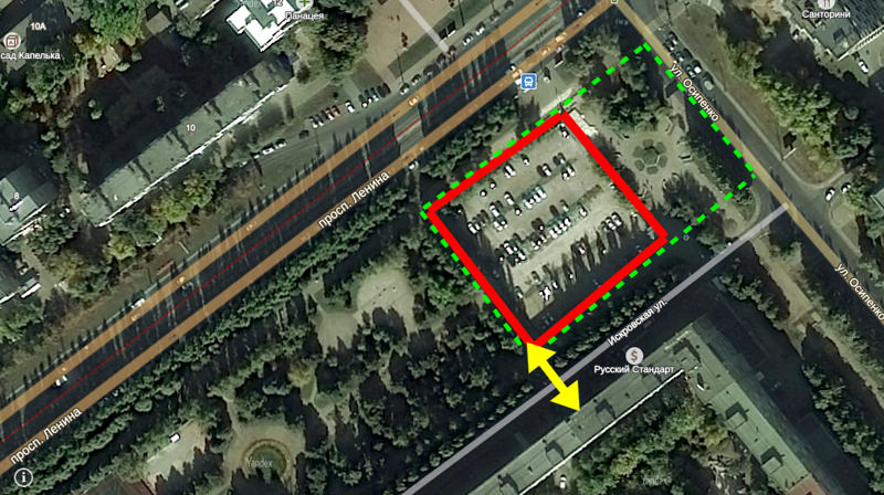 Меркушкин заявил, что сквер Фадеева застраивать не будут. Пока.