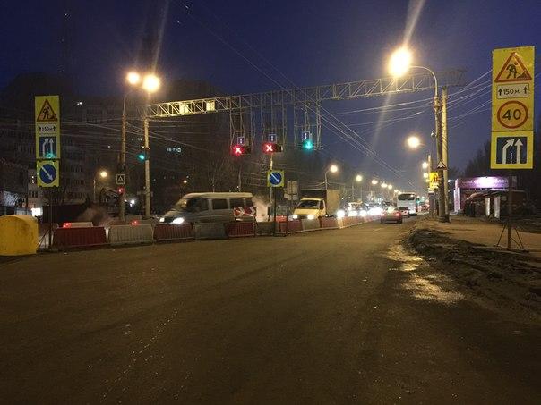 После 9 мая Московское шоссе перекроют в районе ул. Ташкентской