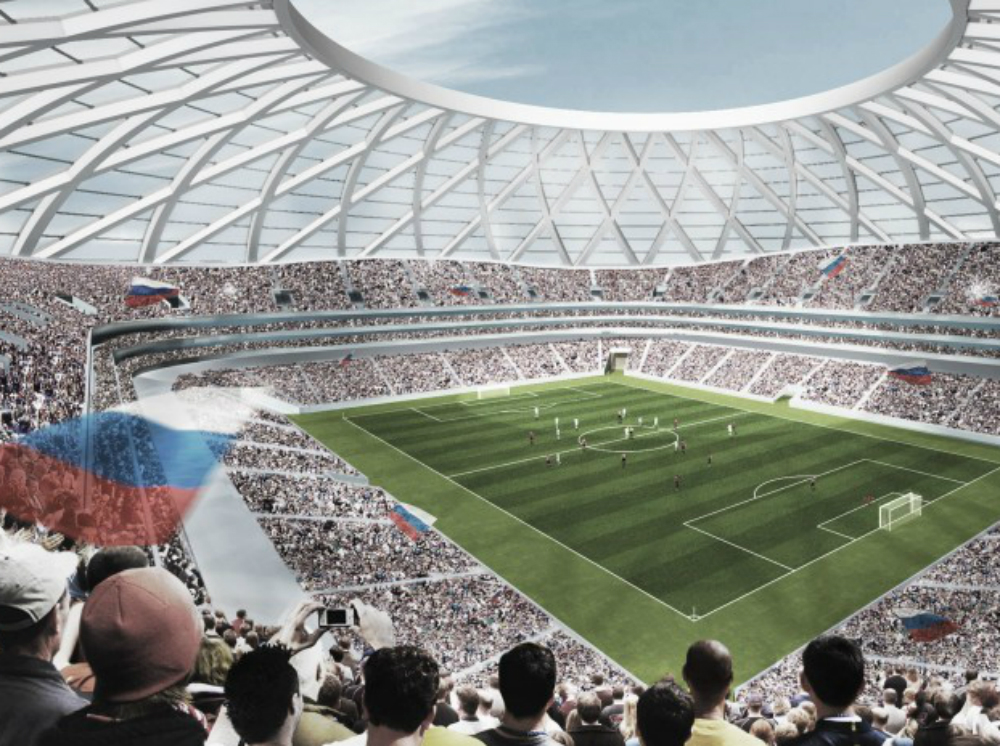 """Стадион """"Самара-Арена"""" благоустроят за 13 миллионов рублей"""