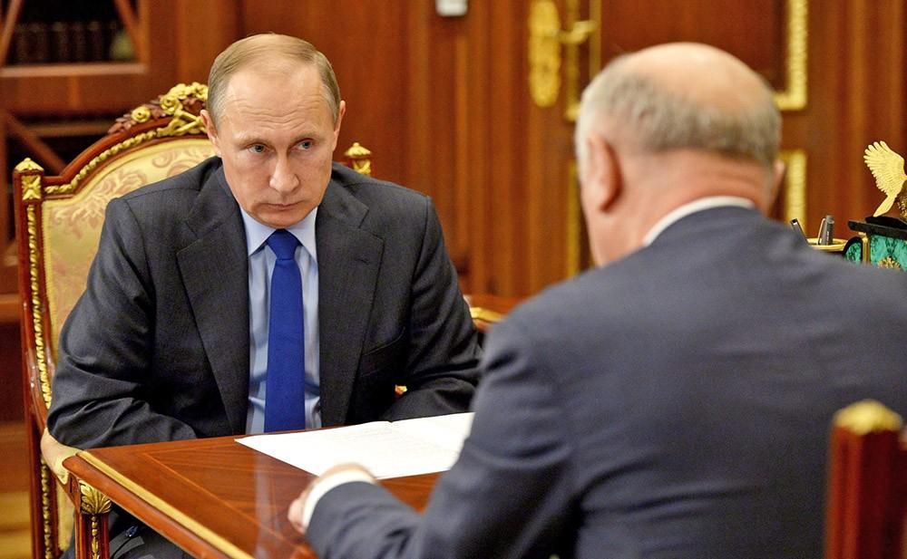 Президент Путин встретился с губернатором Николаем Меркушкиным
