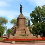 Памятник Ильичу на площади Революции отремонтируют за 2 млн. рублей