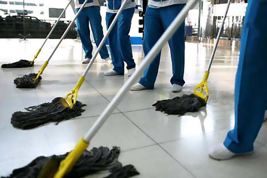 Клининг. Профессиональная уборка торговых помещений