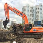Зима 2016 года выдает рекордные показатели по активности демонтажных строительных работ
