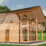 Дом из дерева надежен и удобен для проживания