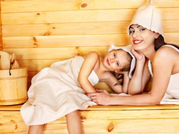 Сауна для детей и будущих мам