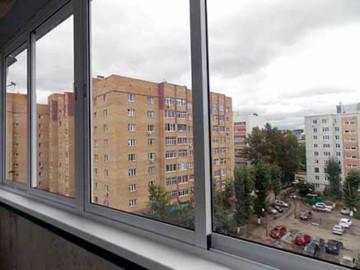 Профили для остекления балкона