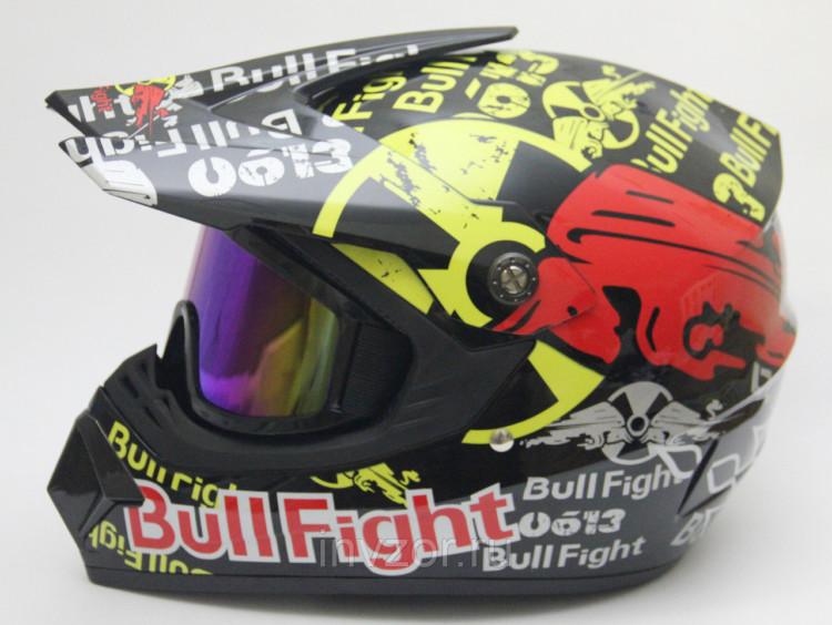 Кроссовый шлем