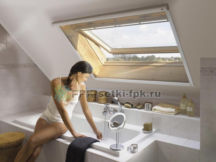 москитная сетка на мансардном окне