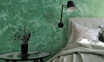 Декоративные краски для стен: уникальные покрытия иихособенности