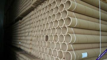 Производство картонных шпуль