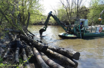 Очистка водоемов в Самаре