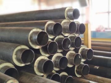 Технология производства труб спенополиуретановой изоляцией (ППУ)