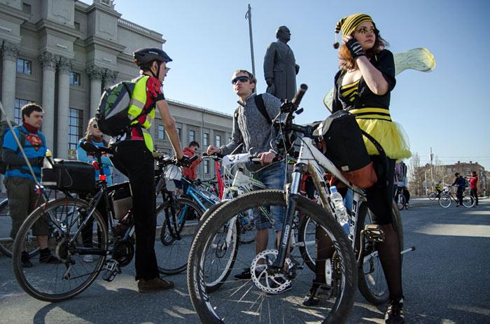 Открытие велосезона в Самаре