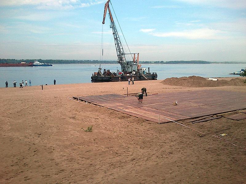 Пляжный сезон: этап планирования песка